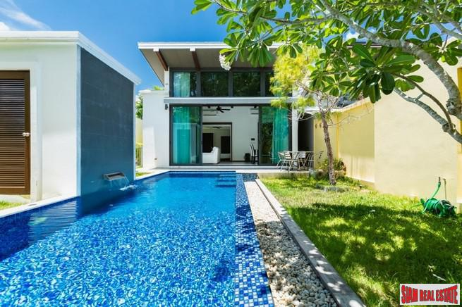 Two Bedroom Single Storey Private Pool Villa for Rent in Cherng Talay