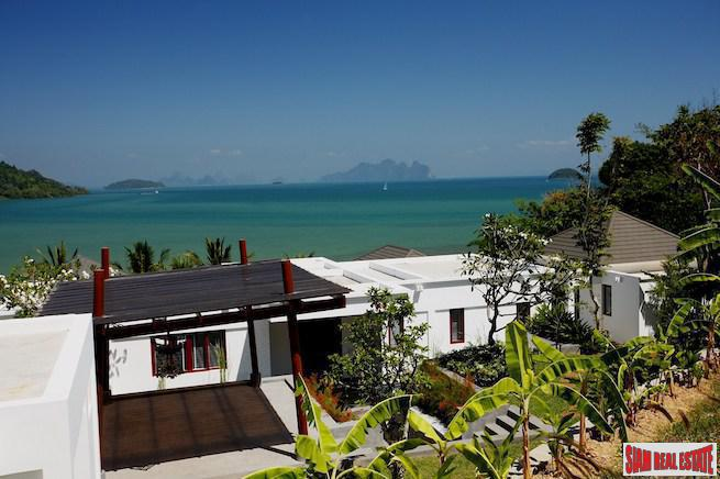 Amazing Four Bedroom Pool Villa with Sea Views Over Phang Nga Bay in Ao Po