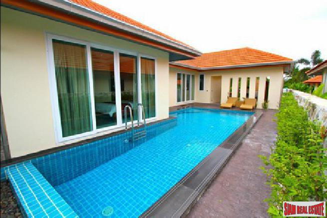 Beautiful 4 bedroom large garden pool villa in a quiet area for sale -East Pattaya