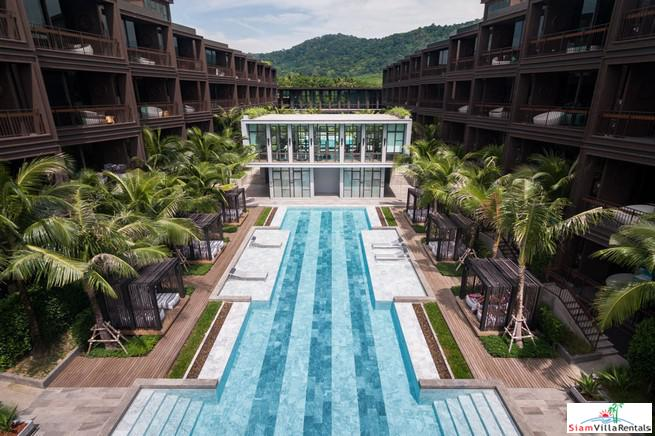 Contemporary Two Bedroom Condos for Rent with Pool or Mountain Views in Rawai