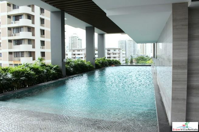 City Views from this Bright and Contemporary One Bedroom Condo in Thong Lo