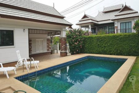 3 Bedroom Pool Villa for sell in Hua Hin with special price for 5 M - 4563