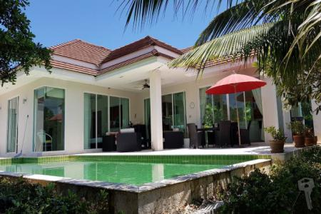 Pool Villa For sell in Hua Hin soi 88 with nice quality, fully furniture and big kitchen - 4554