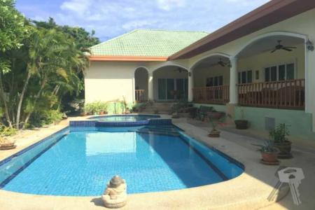 Pool Villa for sell in Hua Hin with Nice Mountain View on the balcony - 4164