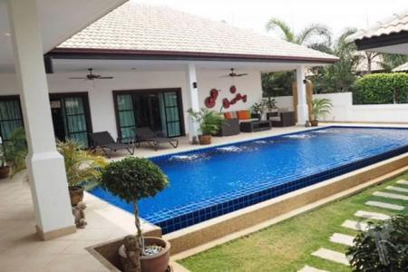 3 Bedroom Pool Villa for sell in Hua Hin with modern style - 4262