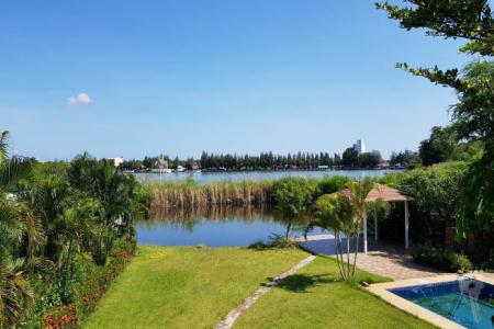 Pool Villa on lake side in Khao Tao, Hua Hin for sell - 4591