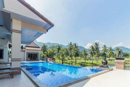Luxury Pool Villa with nice View, big area on the Golf Course for sell in Hua Hin - 4594