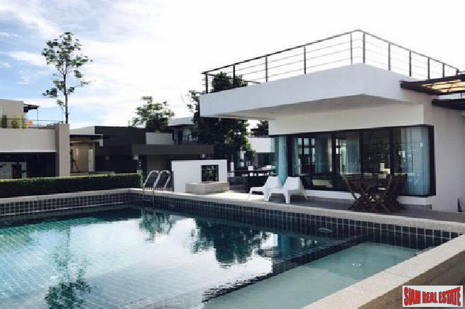 Hot sale modern pool villa for sale in less price than the development- Na jomtian