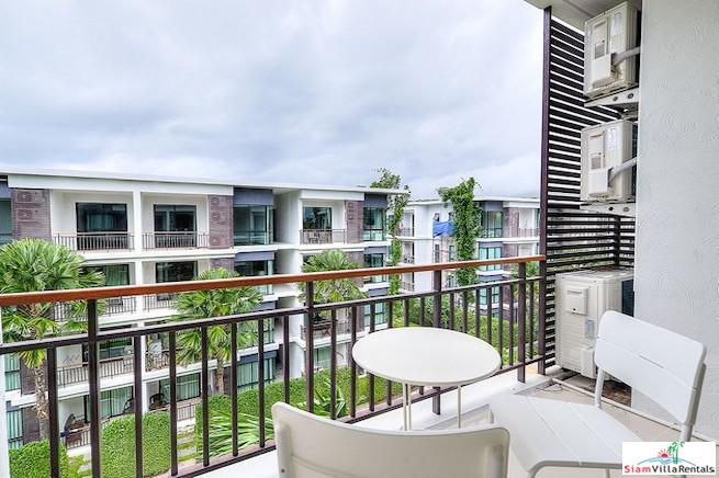 Two Bedroom Top Floor Condo for Rent Across from Rawai Beachfront