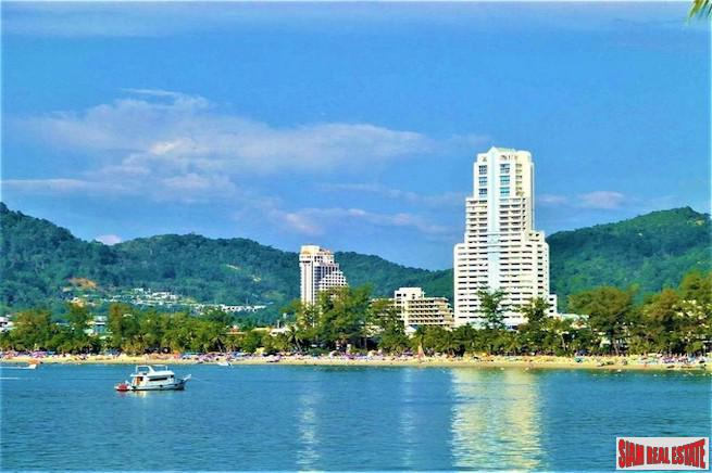 Fantastic Patong Bay Sea Views from this Two Bedroom Condo