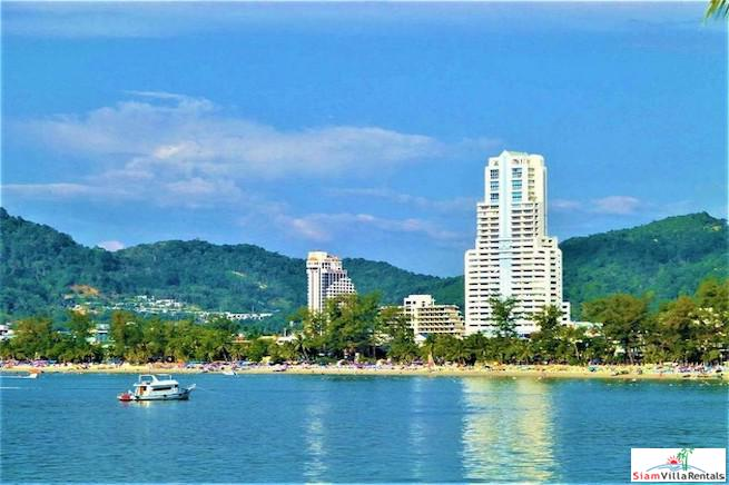 Two Bedroom Condo for Rent with Amazing Patong Bay Sea Views