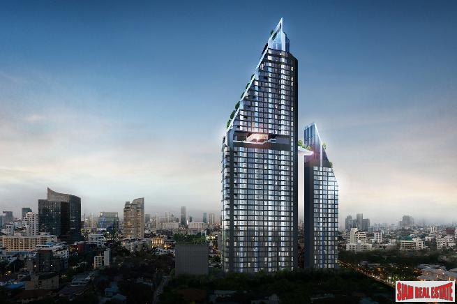 New Off-Plan Launch of a Architectural Masterpiece in one of Bangkoks Hottest Locations - Ekkamai - One Bed Plus Units