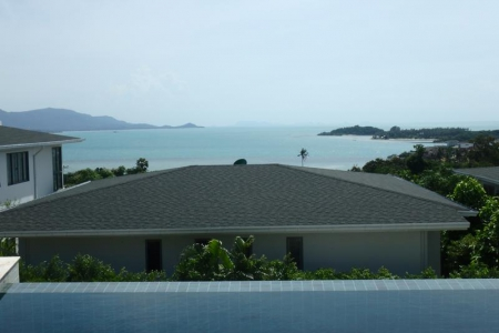 SEA VIEW KOH SAMUI VILLA FOR SALE IN PRIME LOCATION  S1436