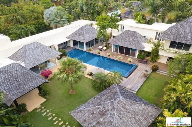 Exclusive Five Bedroom Private Pool Villa Close to Layan Beach
