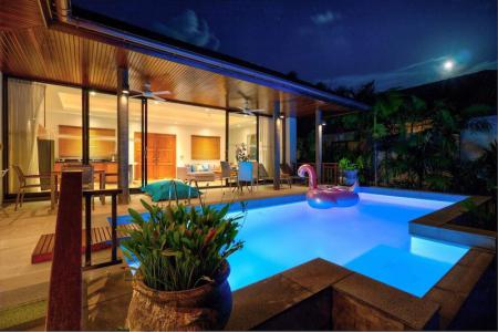 HILLSIDE KOH SAMUI VILLA FOR SALE WITH SEA VIEWS  S1259