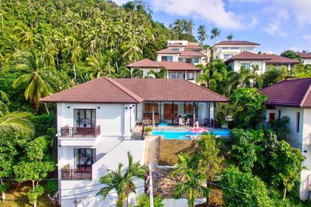 HILLSIDE KOH SAMUI VILLA FOR 11