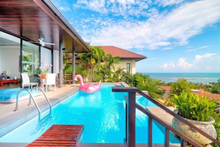 HILLSIDE KOH SAMUI VILLA FOR 2