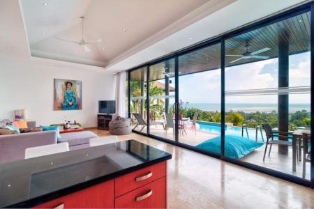 HILLSIDE KOH SAMUI VILLA FOR 4