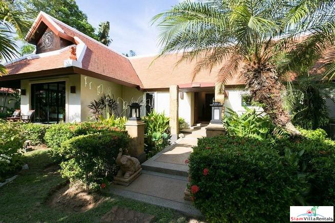 Secluded and Secure Three Bedroom Pool Villa in Nai Harn