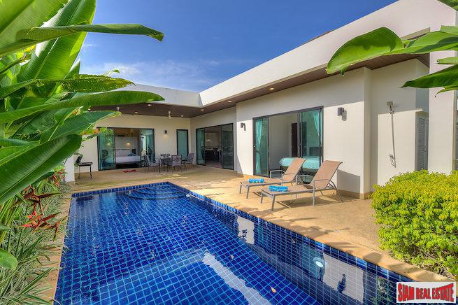 Striking & Elegant Two Bedroom Pool Villa in Rawai