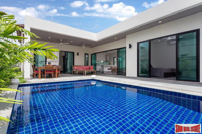 Spectacular Three-bedroom Boutique Villa with Big Pool in Rawai
