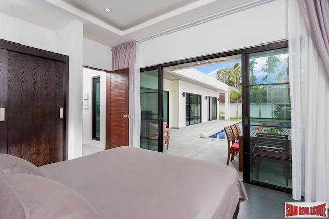 Spectacular Three-bedroom Boutique Villa with 10