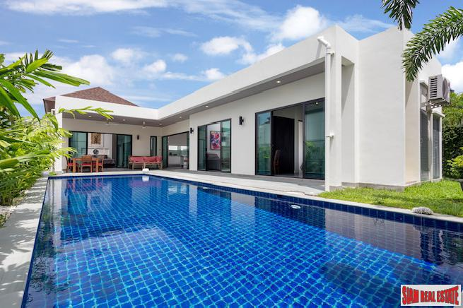Spectacular Three-bedroom Boutique Villa with 2