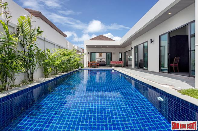 Spectacular Three-bedroom Boutique Villa with 3