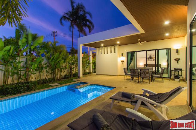 Three Bedroom West Facing Serene Boutique Pool Villa in Rawai