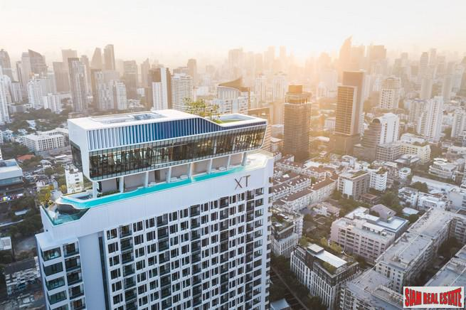 New High Rise Condo with Excellent Facilities at the Popular area of Ekkamai by Top Developer - One Bed Units