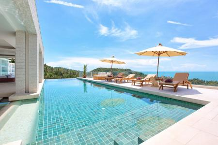 KOH SAMUI VILLA WITH UNFORGETTABLE SEA VIEWS  S1618