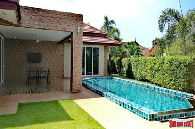 Beautiful 3 bedroom house with private pool for sale - Hauy yai