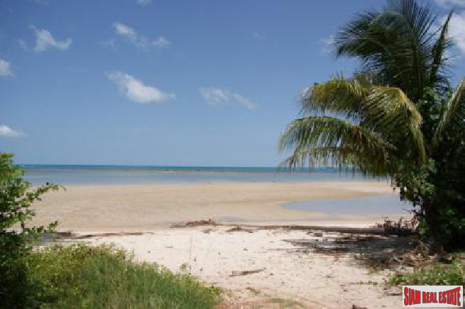 5.88 RAI KOH SAMUI LAND FOR SALE 10 METERS TO THE BEACH