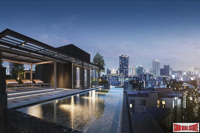 New One Bedroom Low-rise Development  with Bangkok Skyline Views in Ratchadaphisek