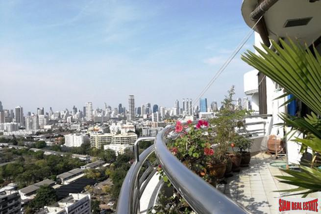 Remarkable Four Bedroom Duplex Penthouse with Sweeping City Views in Sathorn
