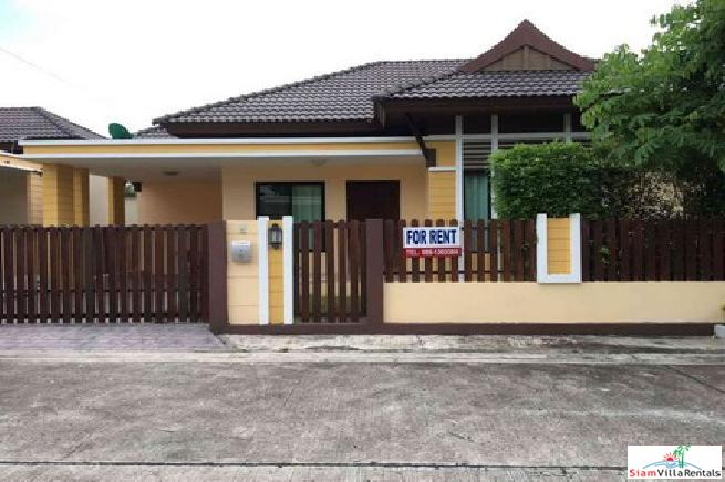 Nice beautiful 2 bedroom house near highway 7 for rent -  East Pattaya