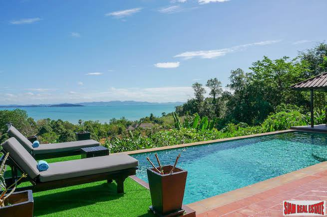 Luxurious Four-Bedroom Sea-View Pool Villa in Prestigious Yamu Estate
