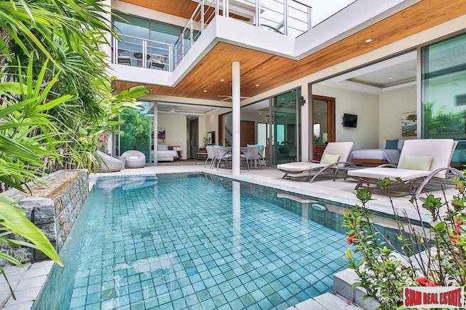 New Lake View Four Bedroom Pool Villa Development in Phang Nga