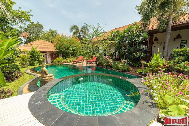 PEACEFUL KOH SAMUI VILLA FOR SALE IN PRIME LOCATION  S1638