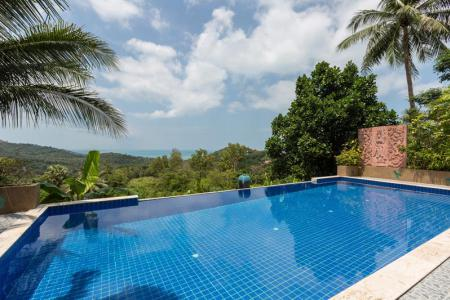 WELL PRESENTED SEA VIEW KOH SAMUI VILLA  S1179