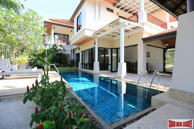 Spacious and Open Three Bedroom Pool House with Extras  on Large Land Plot in Laguna