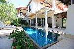 Spacious and Open Three Bedroom Pool Villa with Extras  on Large Land Plot in Laguna