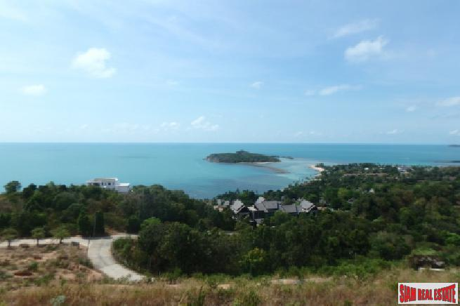 KOH SAMUI LAND FOR SALE WITH STUNNING SEA VIEWS  S1640