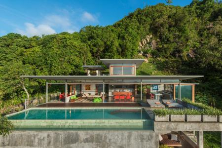 UNIQUE ARCHITECT DESIGNED KOH SAMUI VILLA FOR SALE  S1247