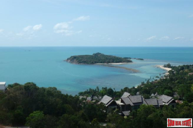 BREATHTAKING SEA VIEW KOH SAMUI LAND PLOT FOR SALE  S1641