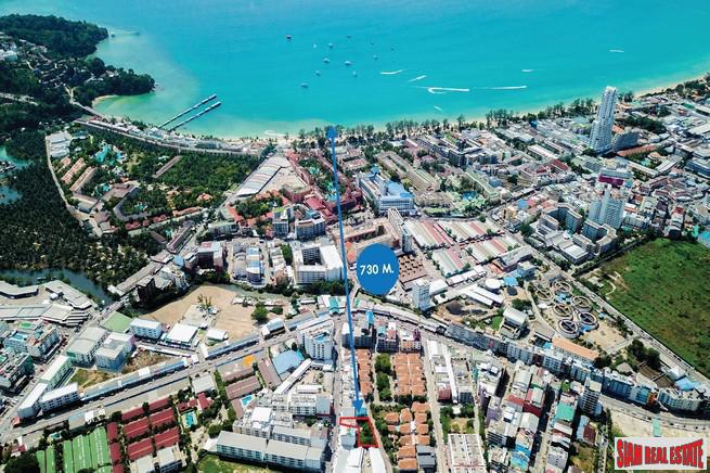 Prime Land Plot Close to the Beach and Shopping Centers in Patong