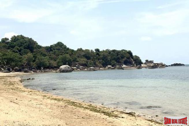 3 RAI KOH SAMUI BEACHFRONT LAND FOR SALE  S1646