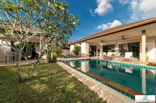10 Pools Villa | Contemporary Four Bedroom Pool Villa for Rent in Cherng Talay