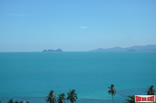 KOH SAMUI LAND WITH STUNNING SEA VIEWS AND VILLA PLANS  S1655