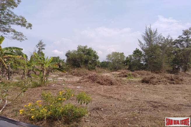 Large Land Plot North of Khao Lak and  Near a White Sand Beach